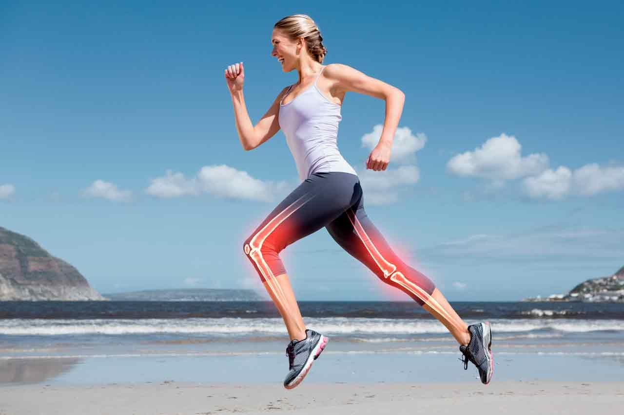 cómo afecta el running a los huesos