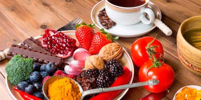 Los 15 alimentos más antioxidantes - Probelte Pharma