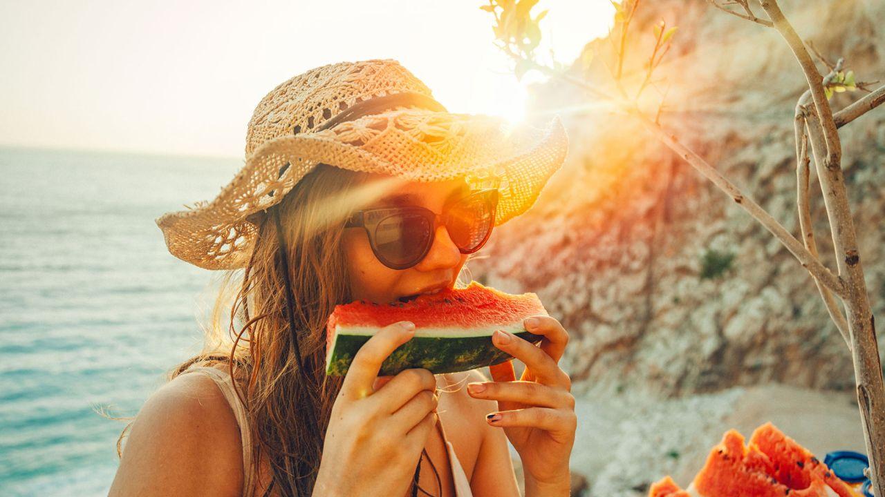 alimentos que aceleran el bronceado