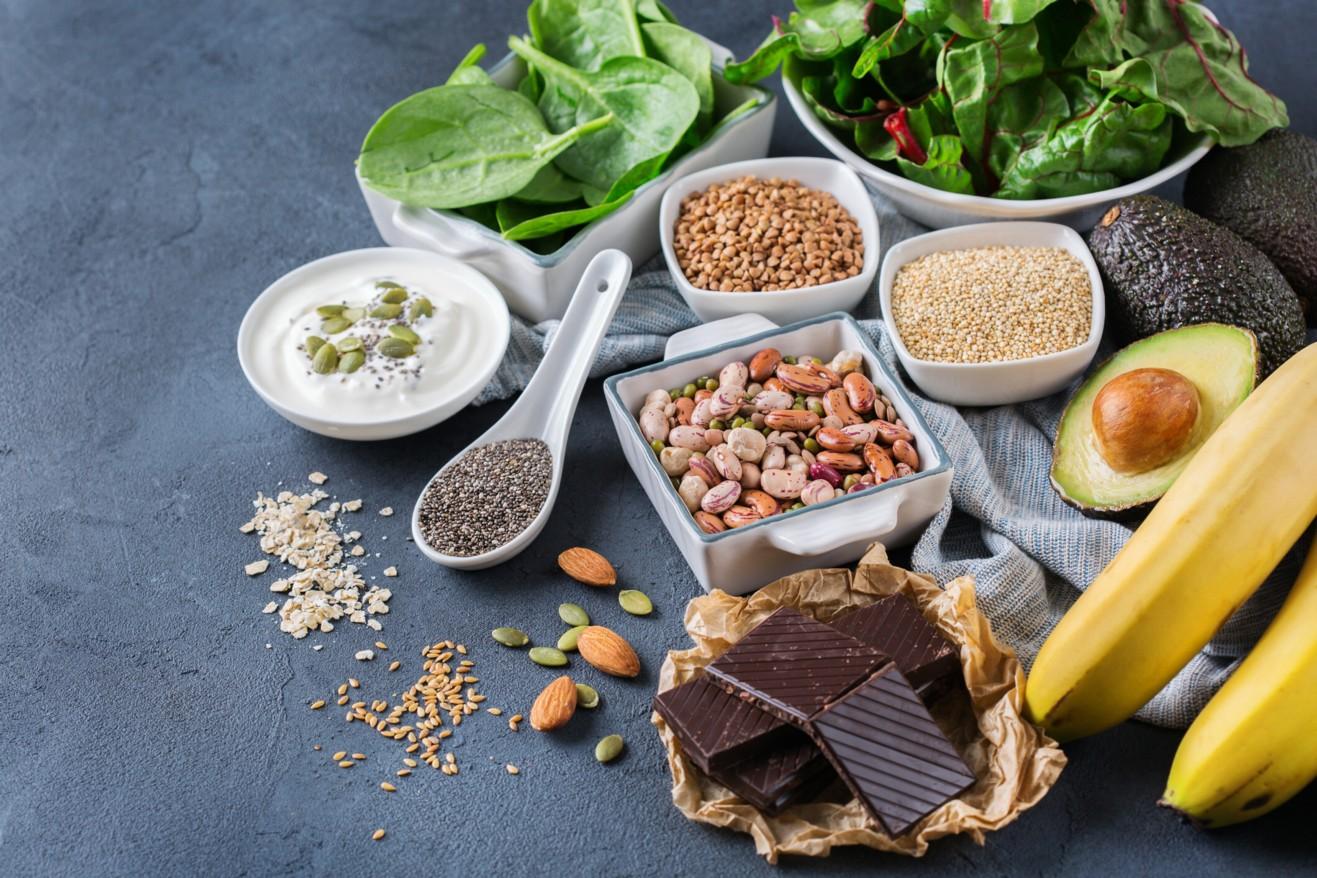 magnesio y la vitamina B6